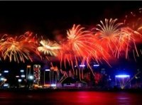 Hong Kong Chinese New Year Fireworks Tour