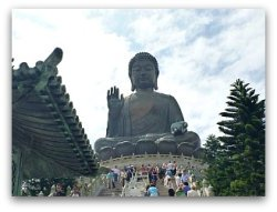 Big Buddha in Lantau Island