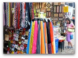 Souvenirs and Trinkets at Stanley Market
