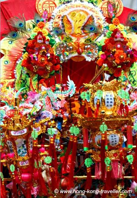 Birthday of Tam Kung  Celebrations Parade Floats
