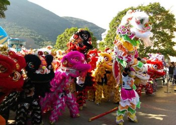 Hong Kong Dragon Lion Dance Extravaganza