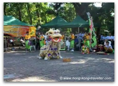 Hong Kong Culture Events - Free Kung Fu and Lion Dance Demo