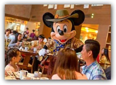 Breakfast at Dragon Wind with Mickey
