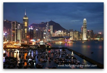 Hong Kong Travel: Victoria Harbour at Night
