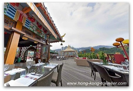 Top Deck at Jumbo  Floating Restaurant