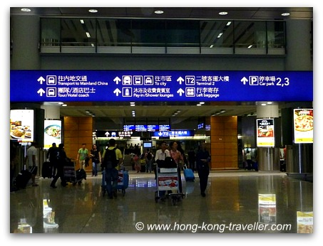 Hong Kong Airport Transfer Options