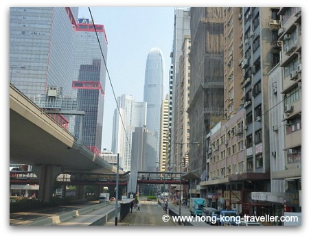 Riding the  Ding Ding Tram Towards Central