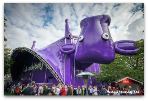 Uderbelly Upsidedown Purple Cow