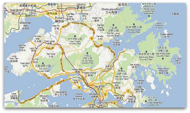 Geography of Hong Kong New Territories
