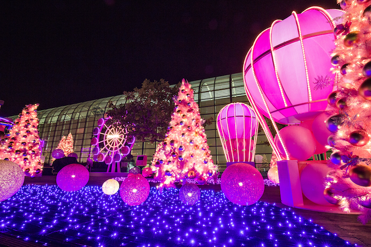 Rosy Christmas at Starlight Garden at New Town Plaza
