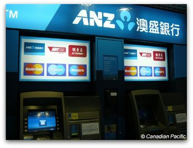Hong Kong Money: Where to change? Will my ATM card work?