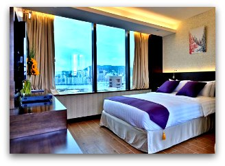 The Bauhinia Hotel Tsim Sha Tsui  Room with Harbour View