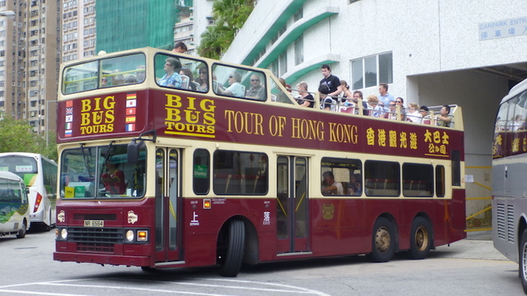 Hop On Hop Off Bus Hong Kong