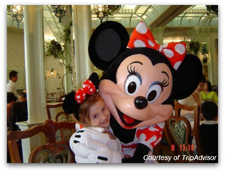 Breakfast at Enchanted Garden with Minnie