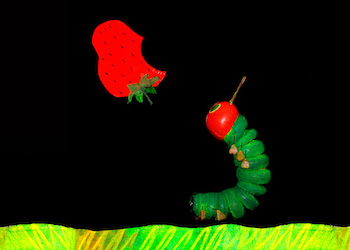 Hungry Caterpillar on Stage
