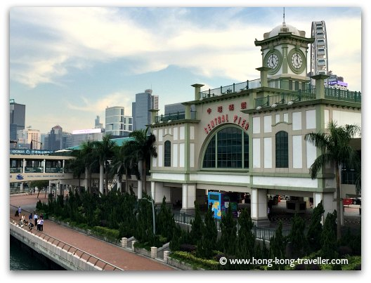 Central Waterfront Promenade at Star Ferry