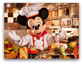 Chef Mickey at Disney Hollywood Hotel Buffet
