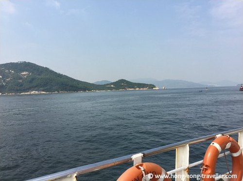 Views from the Cheung Chau Ferry Leaving Victoria Harbour