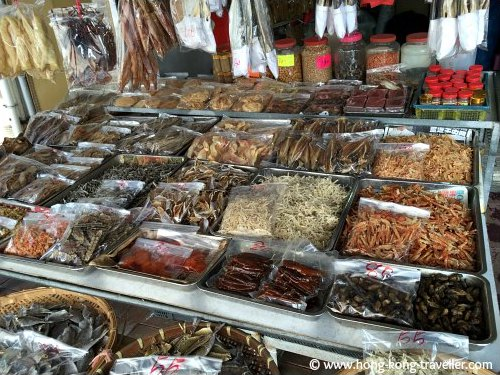 Dried Seafood Shop in Cheung Chau