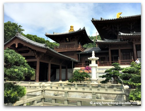 Temple Halls at the Chi Lin Nunnery