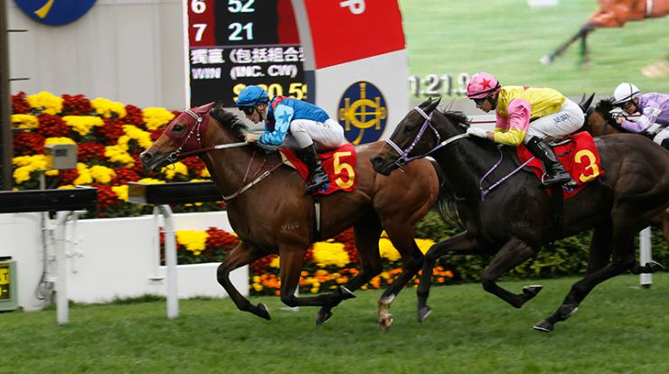 The Hong Kong Chinese New Year Horse Race Meeting at Sha Tin Chinese New Year Cup