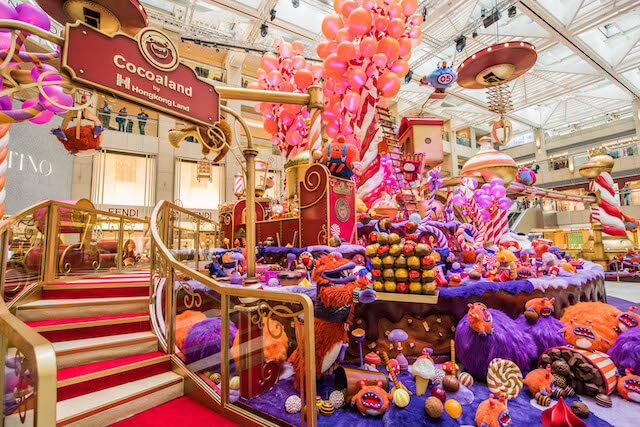 Create Joy with Cocoa Monsters Christmas at the Landmark