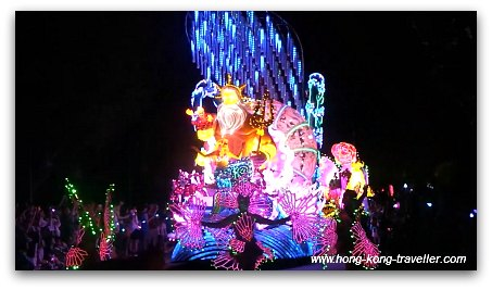 Disney Paint the Night Parade: Little Mermaid