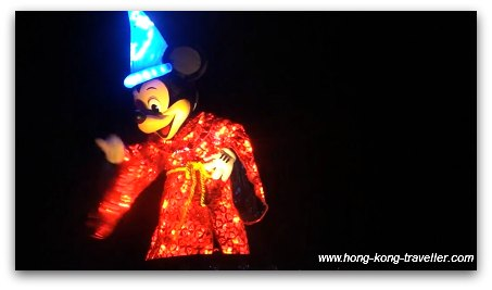 Disney Paint the Night Parade: Mickey in Sorcerers Hat