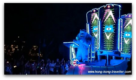 Disney Paint the Night Parade: Monsters Inc Sulley