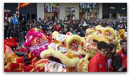 Hong Kong Dragon and Lion dance Festival
