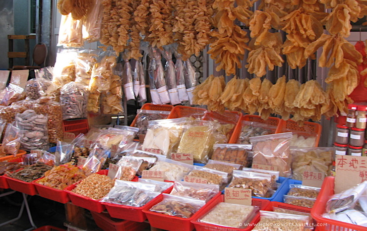 Hong Kong Dried Seafood Market