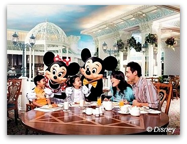 Breakfast with Mickey
