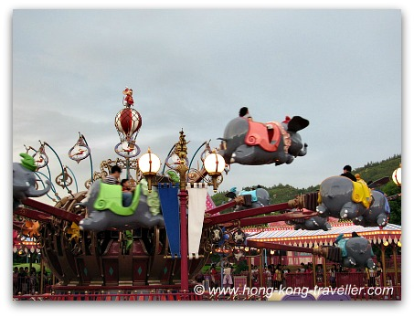 Fantasyland Dumbo Ride