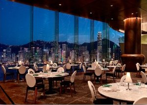 Felix Modern European Cuisine at the Peninsula Hotel Offers Fantastic Harbour Views