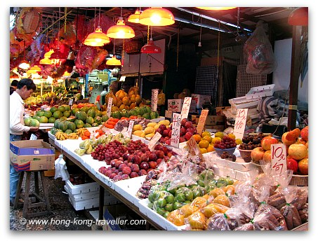 Fresh Produce Markets in Hong Kong