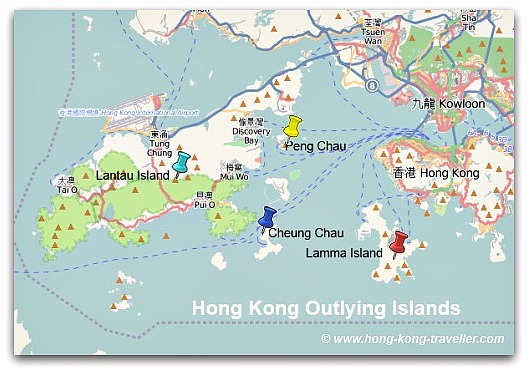Geography of Hong Kong Outlying Islands