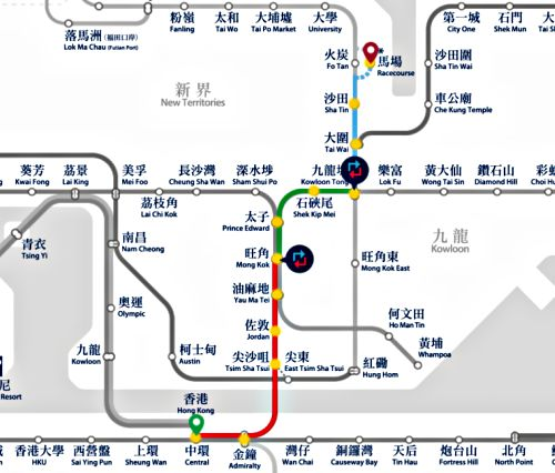 How to Get to Sha Tin Race Course With MTR