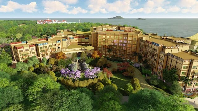 Hong Kong Disneyland Resort: Explorers Lodge