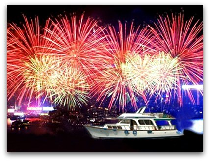 CNY Fireworks Cruises in HK