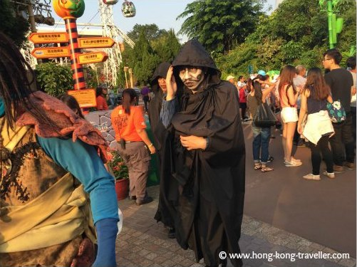 Roaming Monsters during Halloween at Ocean Park