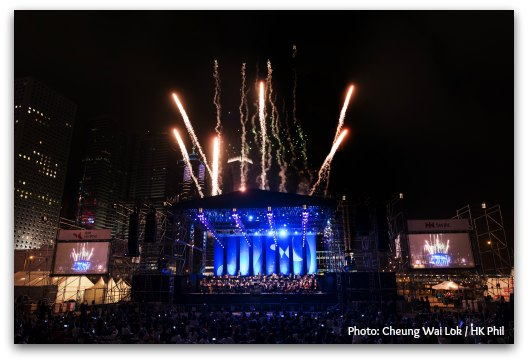 Hong Kong Philarmonic: Symphony Under The Stars