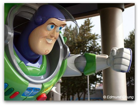 Tomorrowland HK - Buzz Lightyear and Astroblasters ride