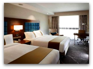 Double Beds at Holiday Inn Golden Mile