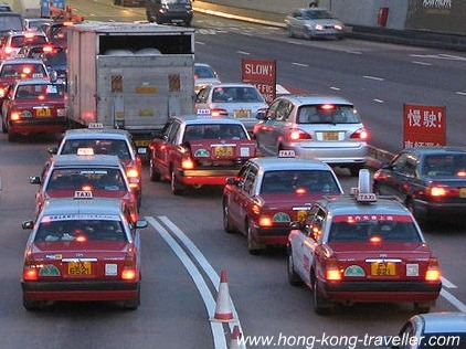 Hong Kong Airport Transfer by Taxi