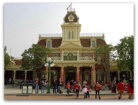 City Hall at Hong Kong Disneyland