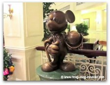 Hong Kong Disney Hotel Mickey Decor