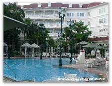 Hong Kong Disney Hotel Outdoor Pool