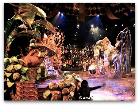 Disneyland Hong Kong Adventureland - Lion King