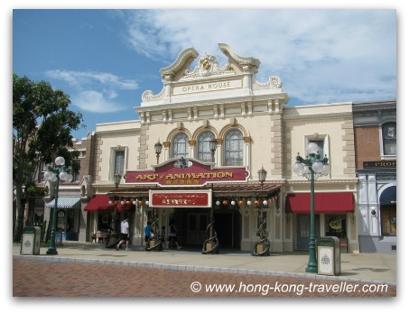 Art of Animation at Hong Kong Disneyland