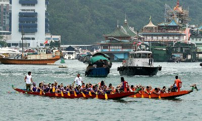 Dragon Boat Festival Races in Aberdeen